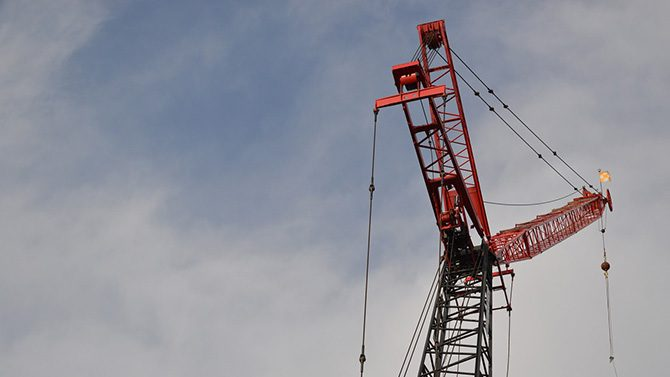 Accommodating A Crane In Big Cities